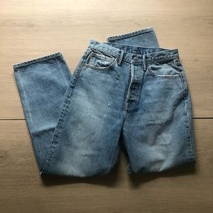 GRLFRND | Amanda Straight Leg Jeans in Development